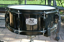 "PEARL EXPORT EX SERIES 14"" BACK in BLACK SNARE for YOUR DRUM SET! LOT #S359"