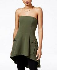 Rachel Roy Peplum military corset top/dress size 4/ $ 119