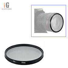 77mm CPL Polarizing Lens Filter for Canon Nikon Sony Pentax Sigma Olympus