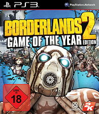 Sony PS3 Borderlands 2 Game of the Year Edition Kult Comic Shooter RPG GOTY OVP