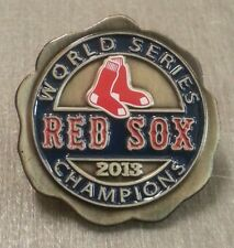 BOSTON RED SOX 2013 WORLD SERIES Champions Lapel Pin