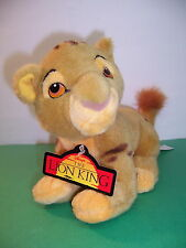 "DISNEY STORE - LION KING - BABY SIMBA CUB / SPOTS - 8"" LONG - NEW"