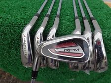 Left Hand Adams Golf RPM Iron Set 4-PW Oversize Irons Steel Uniflex Shaft NEW LH