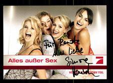 Alles außer Sex PRO 7 Autogrammkarte Original Signiert # BC 76927