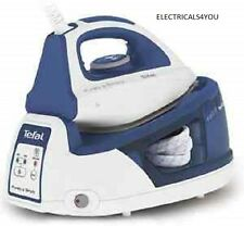 TEFAL SV5030 STEAM GENERATOR IRON, BLUE, CERAMIC SOLEPLATE, 2200W