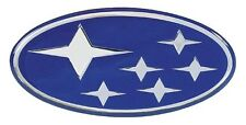 SUBARU IMPREZA GD BLUE STARS GRILLE EMBLEM BUG/BLOB EYE 01-05 WRX/STI *SECONDS*