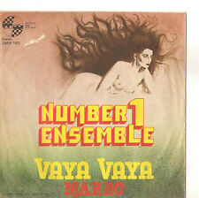 NUMBER ONE ENSEMBLE - VAYA VAYA  -  SOLO COPERTINA - ONLY COVER - VG+