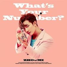 ZHOUMI 2ND MINI ALBUM [ WHAT'S YOUR NUMBER? ] SUPER JUNIOR M