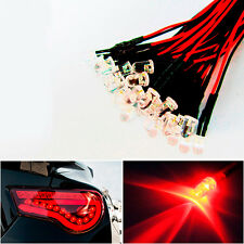 20x Red LED Lamps Lights For Headlights DRL Angel Eyes Fog DIY Decoration New