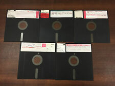 8 Inch Floppy Disks - Sets of 5 - Many Available - AS-IS