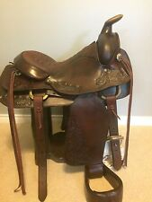 Circle Y Saddle Roping/Trail with Bridle and Blanket
