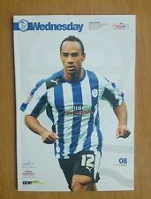 2012/13  SHEFFIELD WEDNESDAY v LEEDS UNITED - EXCELLENT CONDITION
