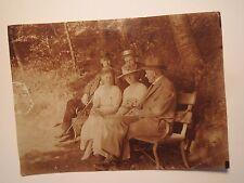 Ausflug nach Ratzeburg - Pfingsten 24. Mai 1920 - Frauen & Männer mit Hut / Foto