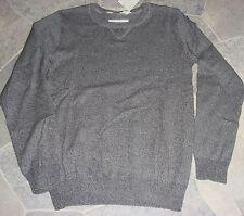 NEU leichter Strickpulli Pullover H&M grau Gr.146/152 aus 100% Baumwolle