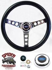 """1970-1979 Ranchero Pinto steering wheel BLACK 13 1/2"""" Grant steering wheel"""
