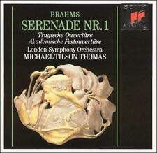 Brahms: Serenade No. 1 / Tragic, & Academic Festival Overtures 1990 b Ex-Library