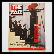 The Face Magazine August 1982 Jean Paul Goude Grace Jones Defunkt Midge Ure