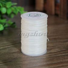100M 0.6mm Linen Waxed Wax Thread Cord Sewing Craft for Leather Caft Stitching