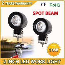 2X10W CREE LED WORK LIGHT 1000LM SPOT DRIVING UTE ATV REVERSE MOTORCYCLE 18W 36W