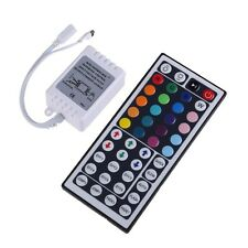 44Key Wireless IR Remote Controller  For 5050 3528 RGB LED Light Strips DC 12V