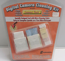Camera & Card Slot Cleaning Kit - Swabs, Tissue, Cleaning Fluid Norazza- NEW F28