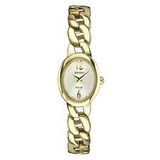 *BRAND NEW* Seiko Women's Analog Gold-Tone Stainless Steel Casual Watch SUP338