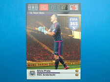 Panini Adrenalyn XL Fifa 365 Card n. 14 Team Mate Proto Anderlecht