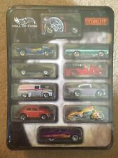 Hot Wheels 35th Anniversary~Hall of Fame~Top 10 Favorite Vehicles~New~2003