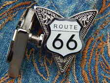 NEW EXCLUSIVE ROUTE 66 COLLAR TIPS SILVER METAL,WESTERN,COWBOY