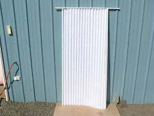 RV Privacy Accordion Pleated Folding Door Room Divider Shade 74x32 w/ track