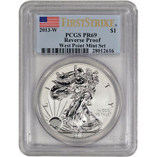 2013-W American Silver Eagle - Reverse Proof - PCGS PR69 - First Strike