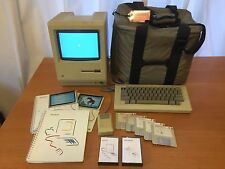 1984 Original Apple Macintosh 128k M0001 Extremely Good Condition!!!