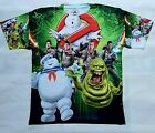Ghostbusters T Shirt 80's comedy movie classic og bred