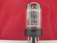 6SN7 / 6N8S / ECC32 / 1578 HF  DOUBLE TRIODE RARE  NOS TESTED LOT OF 1 NEW TUBE