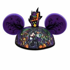 Disney World Mickey Mouse Hallowwen Costume Haunted Mansion Ear Hat NWT