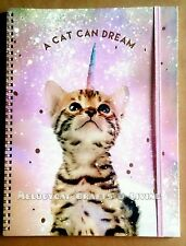 """PROMOTION! """"Typo"""" A4 Collegiate Notebook 120 Lined Pages - A Cat Can Dream"""