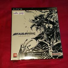 METAL GEAR RISING REVENGEANCE EDITION COLLECTOR  PS3 NEUF VERSION FRANCAISE