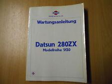 Manuel d'atelier Livre de l'atelier Datsun 280 ZX Série de modèle S130 (1979)