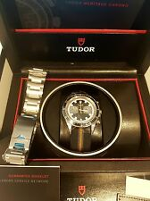 Tudor Heritage Chrono 70330N Stainless Steel Auto Watch RRP $5250aud authentic