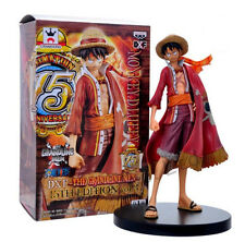 17CM Anime One Piece Straw Hat Monkey D. Luffy  Figura Estatua Modelo con Caja