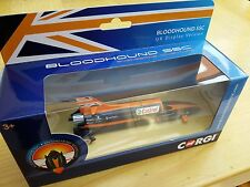 CORGI TY81001 BLOODHOUND SSC die cast model LAND SPEED RECORD CAR