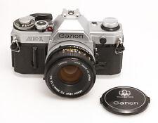 Canon AE-1 mit Canon FD 1,8/50 mm S.C.