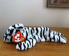 BEANIE BABY BLIZZARD THE WHITE TIGER BORN 1996 RETIRED 1998 WITH TAG