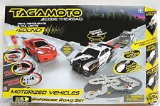 TAGAMOTO CODE ON THE ROAD ENFORCER SET WITH 2 CARS - BRAND NEW!