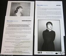KEREN ANN 'NOT GOING ANYWHERE' 2004 PRESS KIT--PHOTO