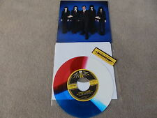"JACK WHITE STRIPES / STEPHEN COLBERT/ BLACK BELLES / TMR-  - TRI COLOUR 7"" VINYL"