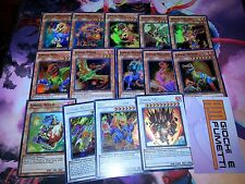 LOTTO 19 CARTE JURRAC yugioh in inglese ORIGINALI MINT con synchro!