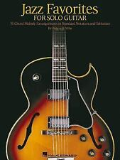 Jazz Favorites for Solo Guitar by Robert B. Yelin (2002, Paperback)