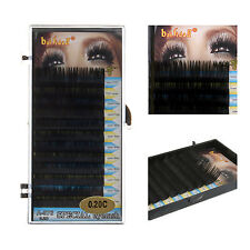 C Curl 7/9/11/13mm 0.2 Thick Long Black False Eyelash Makeup Lashes Extension