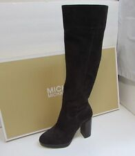 NEW! Michael Kors Size 6 M Regina Suede Brown  Knee High Boots New Womens Shoes